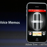 Voice Memos are a useful new feature.