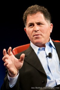 Michael Dell at D6