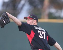 Stephen Strasburg was named National Pitcher of the Week after his fifteen strikeout performance against BYU.