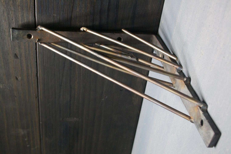 Top Lip Il Small Industrial Shelf Metal Shelving Urban Shelf Metal Shelf Brackets Uk Metal Shelf Brackets houzz 01 Metal Shelf Brackets