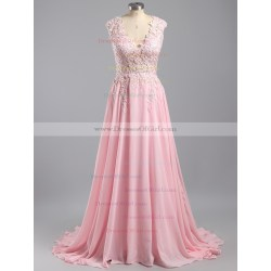 Small Crop Of Pink Prom Dress