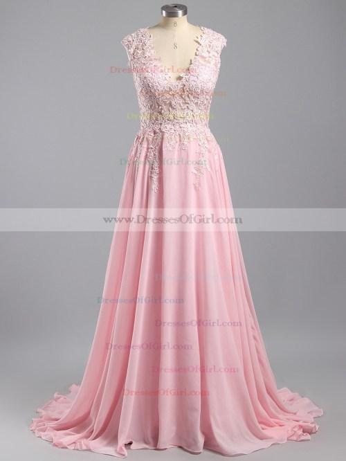 Medium Of Pink Prom Dress
