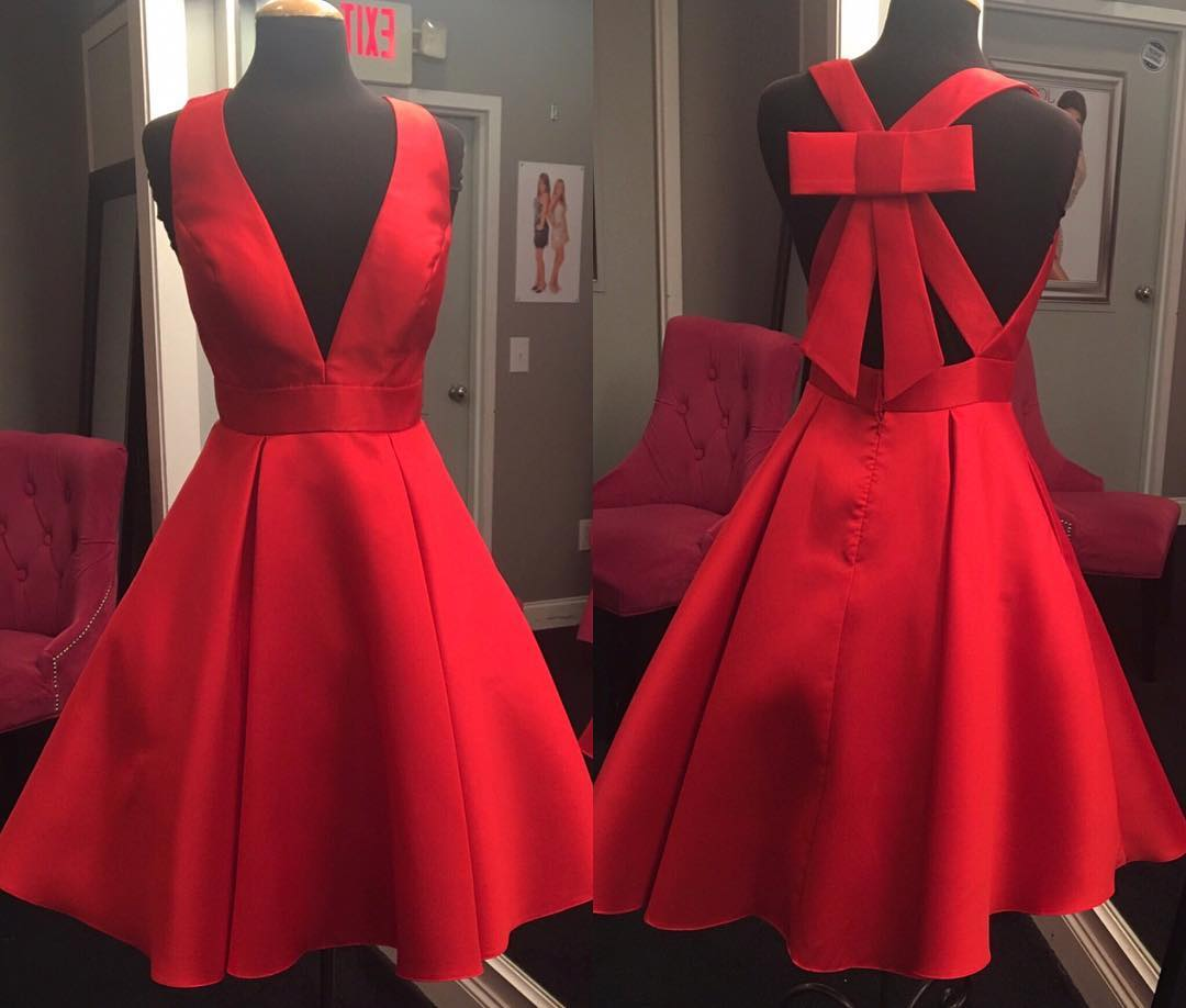 Fullsize Of Short Red Dress