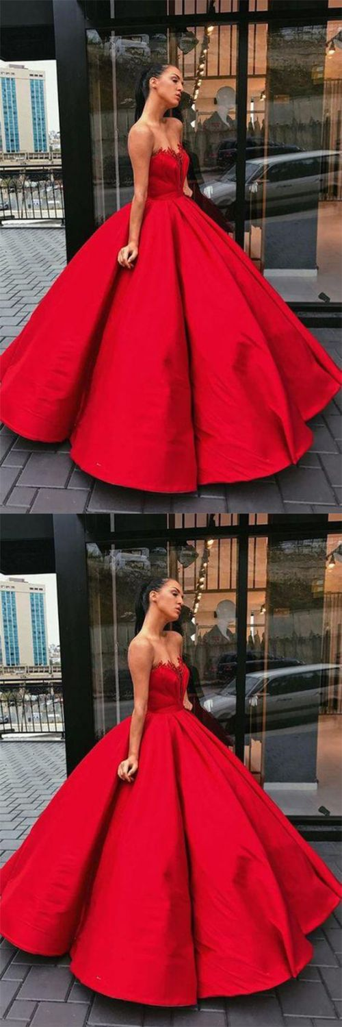 Medium Of Red Prom Dress