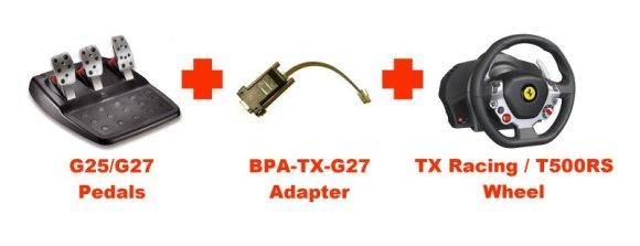 BPA TX G27 Pedal Adapter