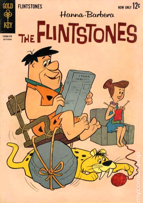 dc comics flintstones