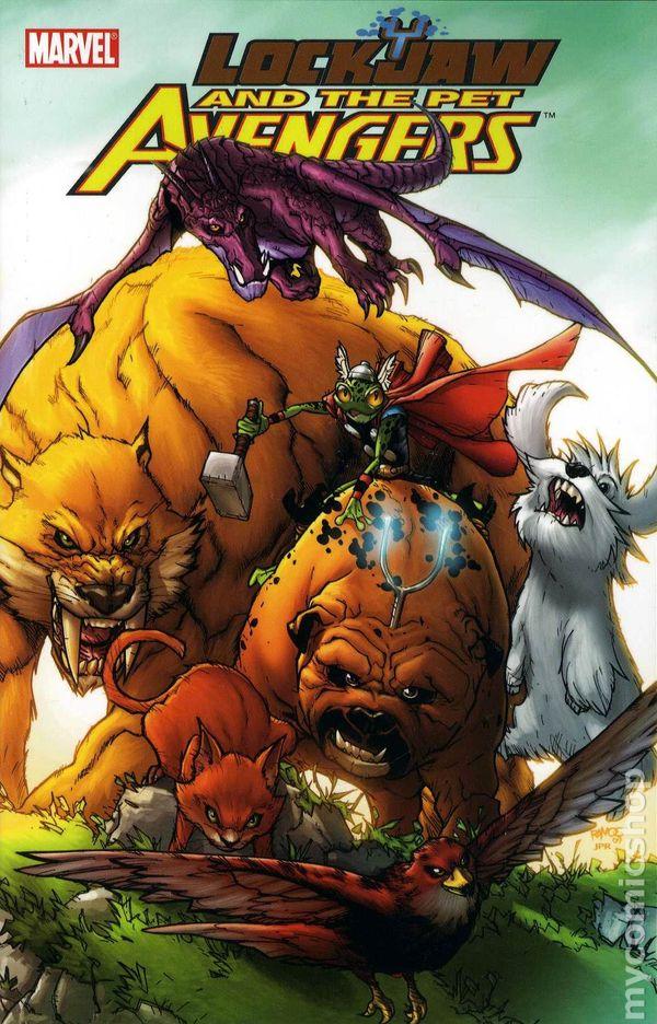 Pet Avengers Assamble! Conheça os Vingadores de Estimação !