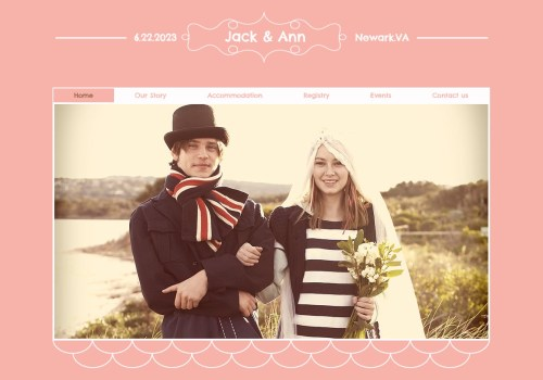 Medium Of Wedding Website Examples