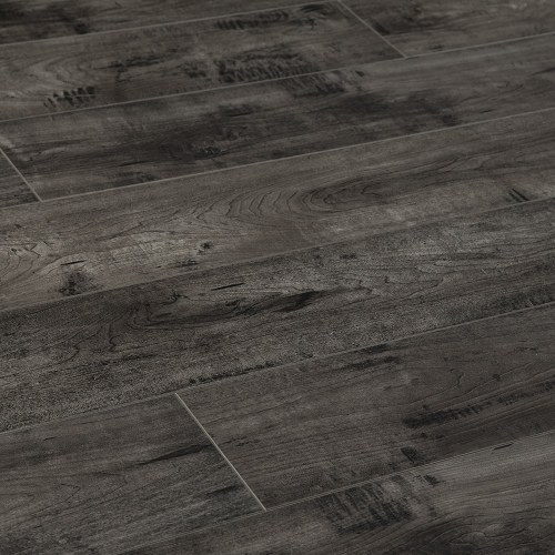 Medium Of Gray Laminate Flooring