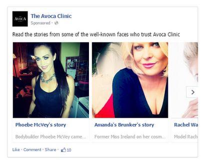 Avoca Clinic Multi People Ads