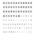 Labeler Alphabet Photopolymer Stamp Set