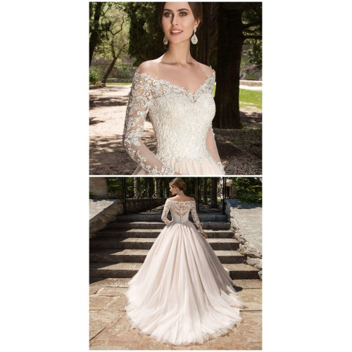 Medium Crop Of Long Sleeve Wedding Dresses