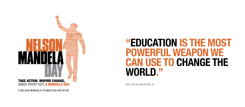 Mandela Day: YOU have the potential to transform the world