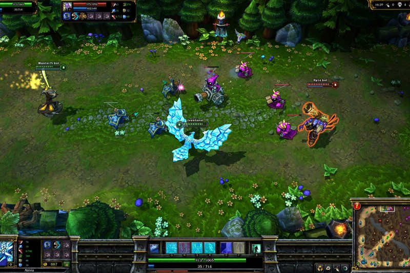 Thieves in online games can be caught by watching how they play     League of Legends