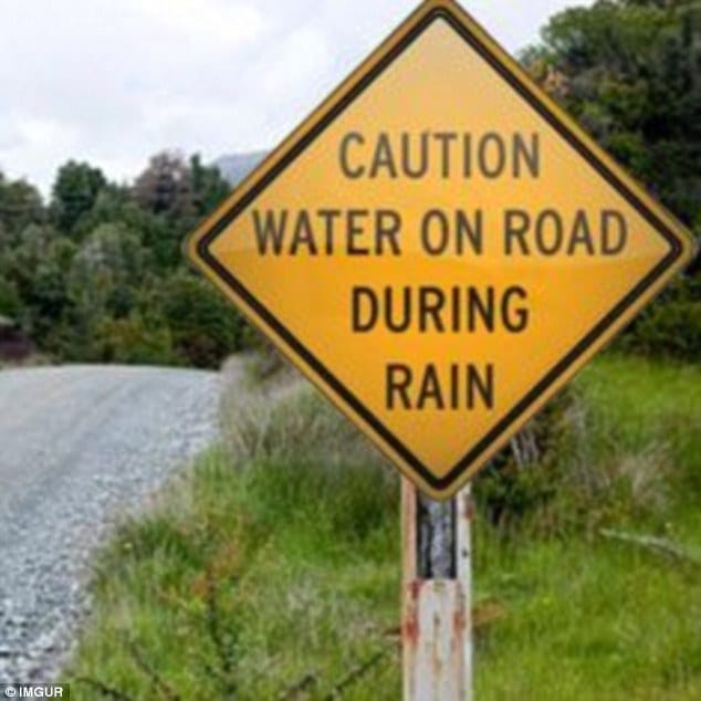 The Most Hilarious Sign Fails From Around The World   EternalLifestyle 3D7AD3D300000578 0 You d like to think that anyone capable of passing a driving tes a 29 1487672897986