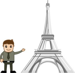 Remarkable Showing Eiffel Tower Vector Cartoon Showing Eiffel Tower Vector Cartoon Stock Image Eiffel Tower Cartoon Pic Eiffel Tower Cartoon Drawing