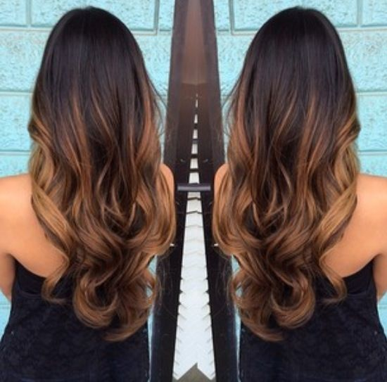 What Summer Ombr     You Should Ask For Based On Your Hair Color      Betches     naturally a brunette and don t want anything too crazy  go for a subtle  caramel ombr      The light contrast will add dimension and fluidity to your  hair