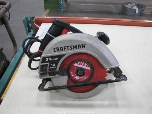 Medium Of Craftsman Circular Saw