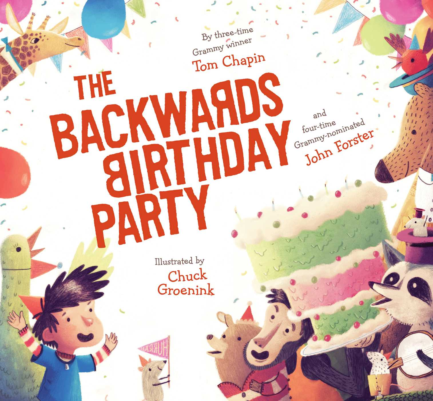 Remarkable Backwards Birthday Party Hr Backwards Birthday Party Book By Tom John Forster Happy Birthday Scrapbooks Happy Birthday Jesus Books photos Happy Birthday Books