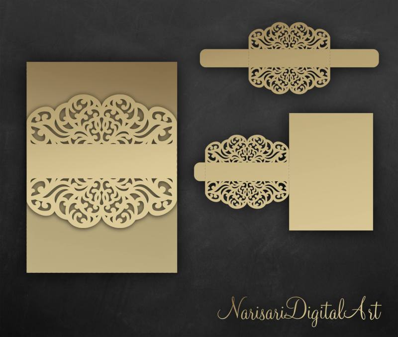 Large Of Laser Cut Wedding Invitations
