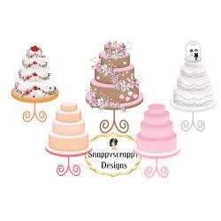 Small Crop Of Wedding Cake Clipart