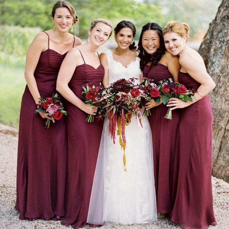 Large Of Long Bridesmaid Dresses