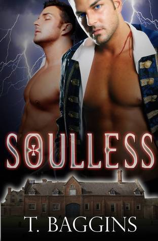 Book cover Soulless by T. Bagginds S.A. Reid