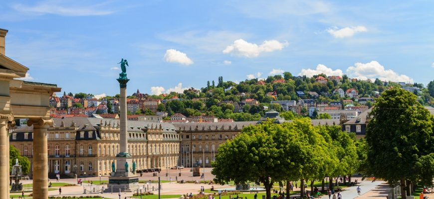 City break Stuttgart  what to see on a three day visit stuttgart schlossplatz