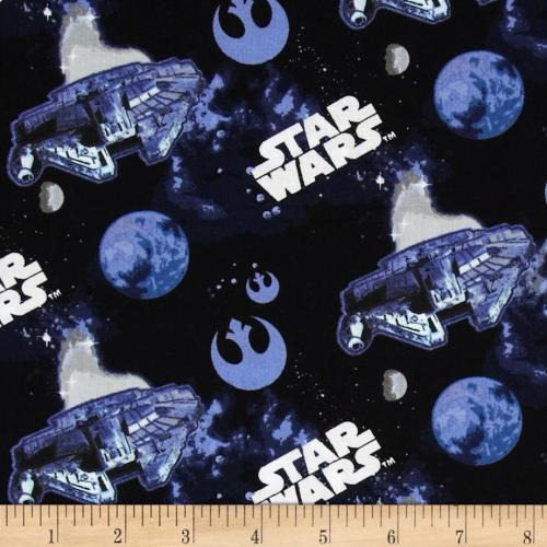 Medium Of Star Wars Fabric
