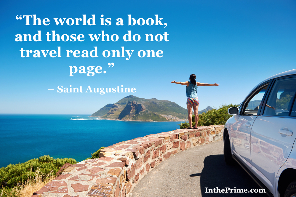 Explore The World Quotes Fascinating 10 Motivational Travel Quotes  In The Prime