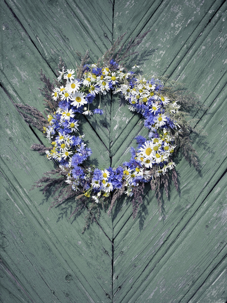 Wreath of flowers