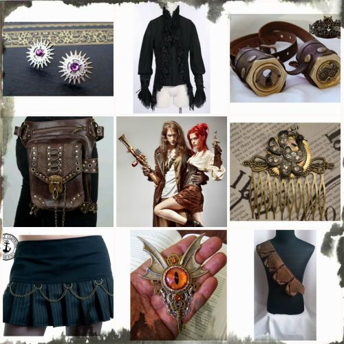 Picturesque Steampunk Fashion Essentials How To Incorporate Steampunk Style Into Your Wardrobe Steampunk Color Palette