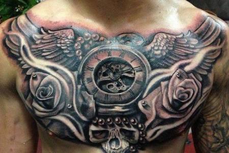 wonderful full chest tattoos for men ?1415928109