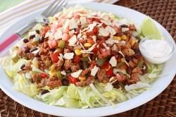 Showy Hungry Girl Healthy Turkey Taco Salad Recipe 20171122 1503 20315 3504 Ground Turkey Tacos Skinnytaste Ground Turkey Tacos Vs Ground Beef