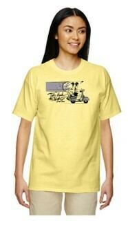 TBTN Ann Arbor T-Shirt Cornsilk with Full Logo