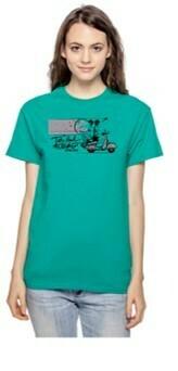 TBTN Ann Arbor T-Shirt Teal with Full Logo