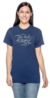 TBTN Ann Arbor T-Shirt Metro Blue with Silver