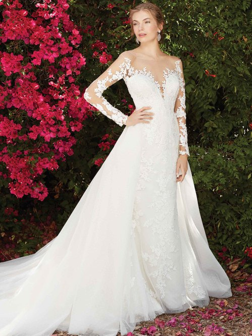 Medium Of Long Sleeve Lace Wedding Dress