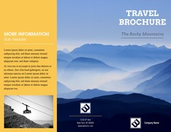 Online Brochure Maker   Create Custom Brochures  23 Free Templates  travel brochure maker