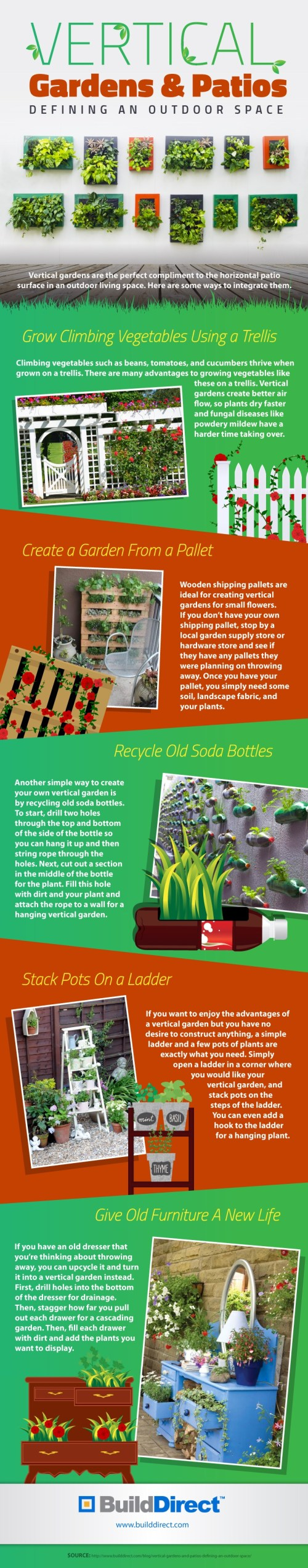 Imposing Copy Vertical Gardens On An Infographic Soda Bottle Vertical Garden