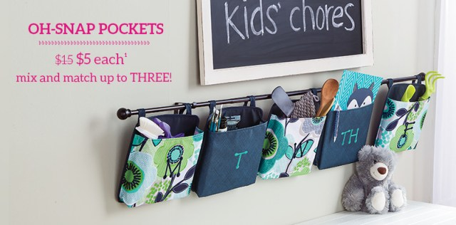 Oh-snap Pockets - $5 each mix and match up to three!