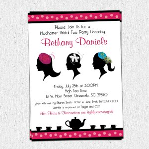 Gallant Church Ladies Il Original Madhatter Mad Hatter Tea Party Invitations Royalty Tea Party Invitations Amazon Tea Party Invitations