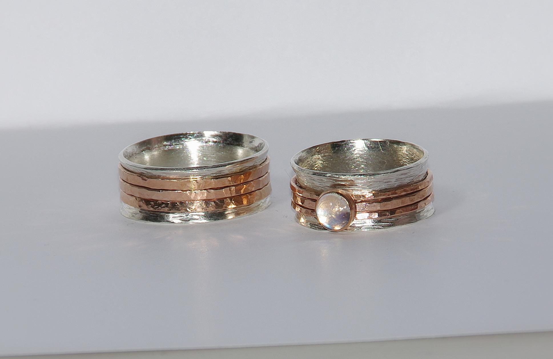 unique wedding rings stackable wedding bands Personalized unique wedding bands custom engraved words inside single bands