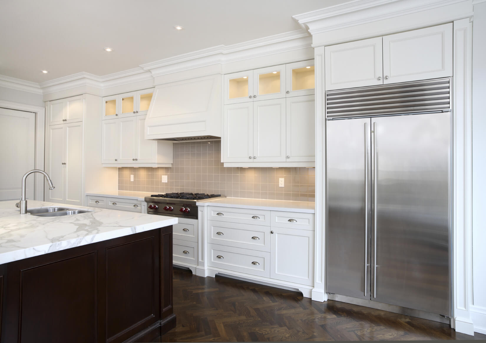 mixing wood and white kitchen cabinets high end kitchen cabinets wood