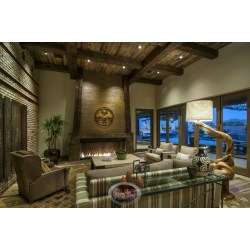 Small Crop Of Rustic Home Decor Living Room