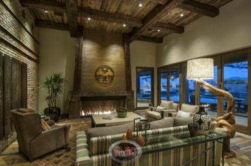 Medium Of Rustic Home Decor Living Room