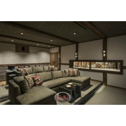 Old Luxury Home Ater Room From Front Showcasing Stadiumseating Design Incorporating Custom Rustic Interior Design Ideas Rustic House Interior Designs Rustic Home Exterior Designs View home decor Rustic Home Interior Design