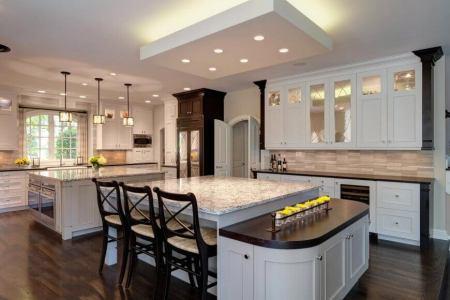 luxury 2 island kitchen by drury designs