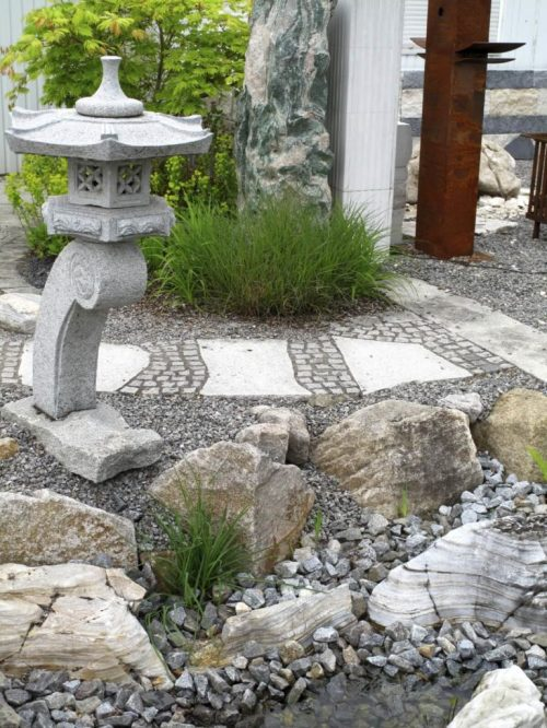 Relieving Textureand Visual Backyard Rock Garden Ideas Rock Garden Small Backyard With Minimal To No Plants Your Rock Garden Can Still Bring Lots
