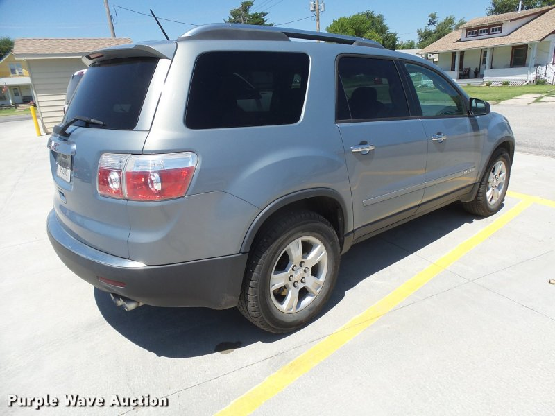 2008 GMC Acadia SUV   Item DB2723   SOLD  August 8 Governmen        2008 GMC Acadia SUV Full size in new window
